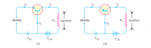 common base transistor configuration