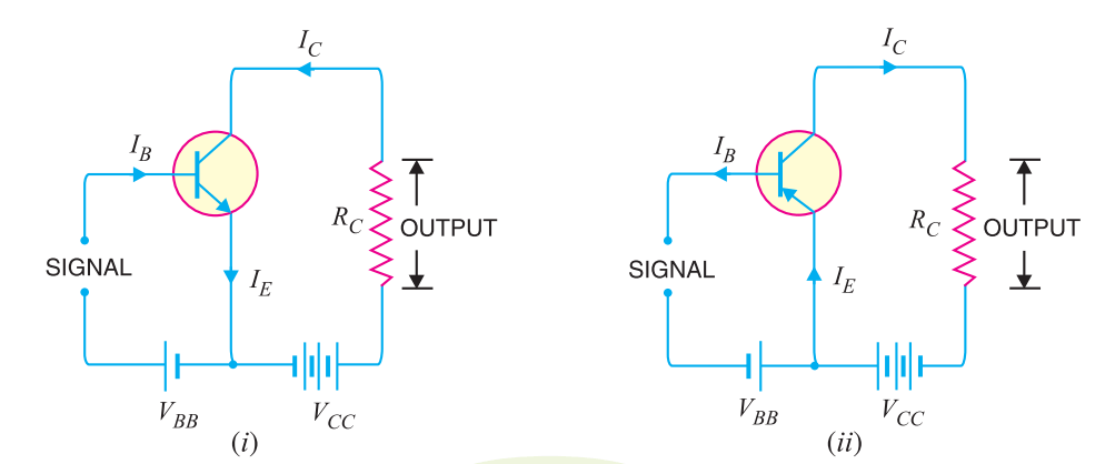 common emitter transistor connection