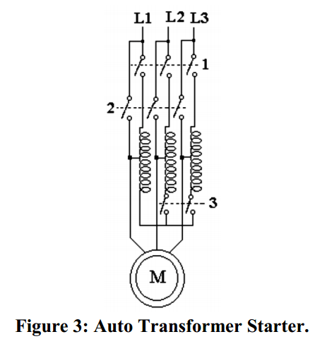 starting by autotransformer starter