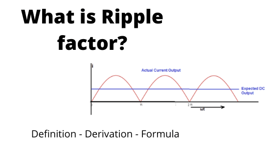 what is ripple factor